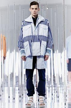 La collection homme PE15 Sacai est à découvrir on Trends P. #Sacaï #SS15
