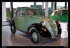 A Fiat Topolino. Karen, this is a car for us.