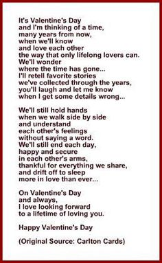 Valentine Day Poem For Boyfriends Valentines Day Quotes For Him