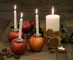 Vær kreativ når du skal lyse opp julen. Nedenfor får du gode tips om hvordan du kan lage fine løsninger med levende lys.
