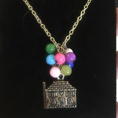 Vintage Look Beautiful Necklace I love this necklace because it looks like it's from Up! Bought this a while ago and just never wore so it's up for grabs! Cleaning out my closet  All jewelry is 3 for $20! Jewelry Necklaces