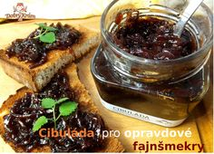 Cibuláda s tymiánem a portským (min. Chutney, French Toast, Breakfast, Birthday, Food, Morning Coffee, Birthdays, Essen, Meals