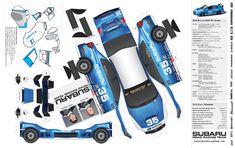 Race Car Cut Out Templates Mercedes Benz, Autos Mercedes, Porsche, Audi, Bmw, Paper Model Car, Paper Car, Subaru Models, Subaru Cars