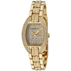 Ladies' Daylight Pave Dial Watch In Gold http://www.beyondtherack.com/member/invite/B7C53751