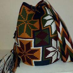 Mochila Wayuu especial. Ag.11-03.
