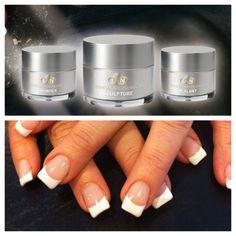 LCN gel nails Lcn Nails, Shellac Manicure, Glitter Gel Nails, Gel Nail Art Designs, Nail Design Video, White Nail Designs, Gel Nail Tips, Gel Nails French, Acrylic Nail Shapes