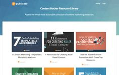 40 KILLER CONTENT MARKETING RESOURCES