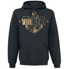 Anchor - Hooded sweater by Volbeat