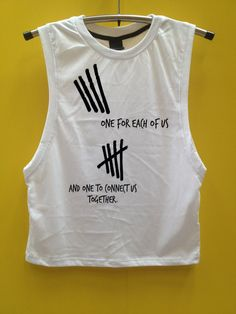 5sos one for each of us shirt 5seconds of summer by awesomeshirt, $14.50