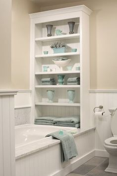 Great ideas for little bathrooms