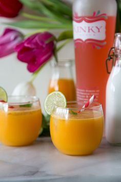 Kinky Mango Splash Cocktail - What's Gaby Cooking | for those tropical beach withdrawals