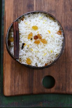 Fragrant Coconut Basmati Rice from Food Wanderings