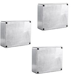 E Support 1590BB Aluminum Metal Stomp Box Case Enclosure Guitar Effect Pedal Pack of 3. Material: Aluminium. Color: Silver. Style: 1590BB. 4.67¡± x 3.68¡± x 1.18¡± (119mm x 94mm x 30mm).