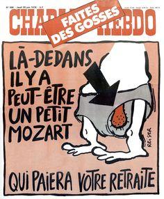 Charlie Hebdo - # 398 - 29 juin 1978 - Couverture : Reiser