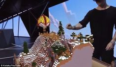 Microsoft's HoloLens headset takes Minecraft to a whole different level