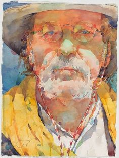 Ted Nuttall ~ Figurative Watercolour painter #watercolorarts