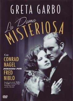 "Vintage Movie Poster - 1928.  Greta Garbo  Conrad Nagel. ""The Mysterious Lady"" My favorite Garbo Silent!!!"