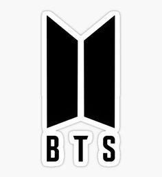 BTS NEW LOGO Sticker