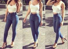 high waisted brazilian jeans - Google Search