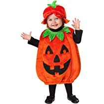 Our cute baby pumpkin costume includes a poofy pumpkin romper with happy jack-o-lantern face and a matching hat.The baby pumpkin costume comes in baby sizes Baby Baby Newborn.The tights and shirt are not included with this adorable pumpkin baby costume. Baby Girl Halloween, Halloween Costumes For Girls, Halloween Fancy Dress, Girl Costumes, Halloween Kids, Halloween Party, Infant Halloween, Halloween Fashion, Thema Deco