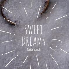 New to EnlightenedLotusByEC on Etsy: Sweet Dreams Bath Soak Bath Salts Detox Bath Soak (9.95 USD)
