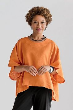 9ec4f0b22ab Image result for linen top designs sewing Smart Casual Outfit, Nice  Outfits, Plus Clothing