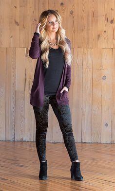 Details about  /Gear 1 sz L athletic wear lace up stretch capri black purple lace up NWT