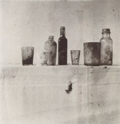 Cy Twombly, Still Life, Black Mountain College, 1951, Color dry-print, Collection Cy Twombly, Foto: Archiv Nicola del Roscio, Rom, © Cy Twombly