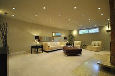 If you plan to use recessed lighting in your low ceilings, think of the cone of light that spreads from a recessed light. The closer it is t...