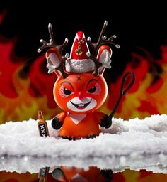 "Frank Kozik x Kidrobot - ""Rise of Rudolph"" 3-inch Dunny Available Now!!!"