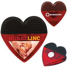 30177 - Heart Clip is perfect for a wedding favors! #promoproducts #wedding