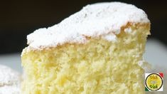 Sponge cake is a cake based on flour, sugar, and eggs, and is sometimes leavened with baking powder. It has a firm, yet well aerated structure, similar to a sea sponge. A sponge cake may be produced by the batter method or the foam method.