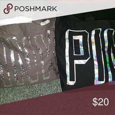 Victoria Secrets Tote bags Victoria Secrets Tote Bags 20 each PINK Victoria's Secret Bags Totes