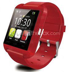 Tecnologia Vestível - Relógio inteligente - DGZ Bluetooth 3.0 -Chamadas com Mão…