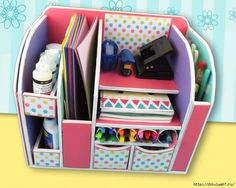 Organizador muy lindo! Manualidades a pasos