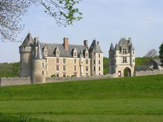 Château de Montpoupon - in Céré-la-Ronde, Indre-et-Loire, France; a medieval fortress and castle; it currently houses a museum dedicated to hunting dogs; photo by Chaloos, via Flickr.
