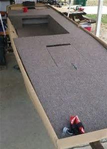 Image result for Jon Boat Conversion Deck