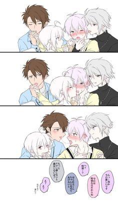 白靴下 (@0511_rm) さんの漫画 | 120作目 | ツイコミ(仮) Cute Anime Boy, Cute Anime Couples, Anime Love, Anime Guys, Manga Anime, Anime Art, Manhwa, Anime Couple Kiss, Familia Anime