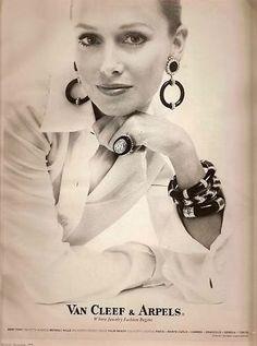 Vintage Ad: Van Cleef & Arpels jewelry, 1973