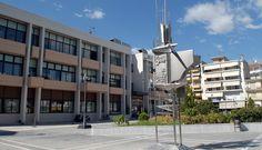 Το αιολικό πάρκο στα Πιέρια στη συνεδρίαση του δημοτικού συμβουλίου Κατερίνης Sigma Tau, Kappa, Alpha Alpha, Building, Buildings, Construction