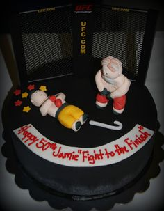 Snacky French- UFC cake