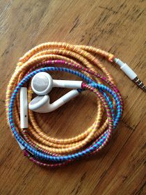 Patent Pending Projects: (Tangle Free) String Wrapped Earphone Project