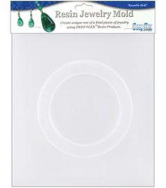 "Yaley Resin Jewelry Reusable Plastic Mold-Bangle Bracelet 7/8""X2-5/8"""