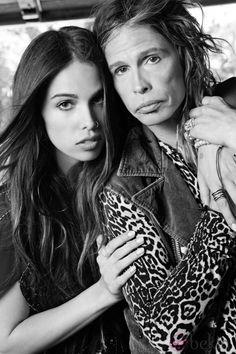Resultado de imagen para steven tyler y su hija chelsea