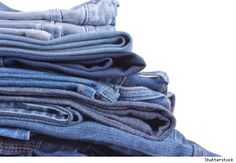 15 Creative Ways to Reuse Old Jeans - great ideas - hubby is always wearing out the knees but the material in other places is still good - I hate throwing things away if they can be re-purposed www.wildernesswife.com #re-purpose #green #jeans