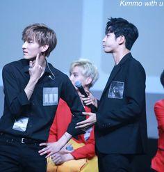 Zuho, Taeyang (back) & Rowoon