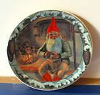 Tomte plate from Arabia Finland.