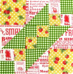 Farmer's Wife Quilt-a-Long Block # 12 - Broken Sugar Bowl by Ellie@CraftSewCreate, via Flickr