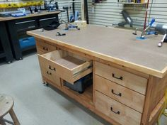 Shop Assembly/Outfeed Table