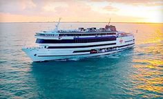 Groupon - Casino-Cruise Package for One or Two with Food, Drinks, and Slot Play from Victory Casino Cruises (Up to 54% Off). Groupon deal price: $27.00